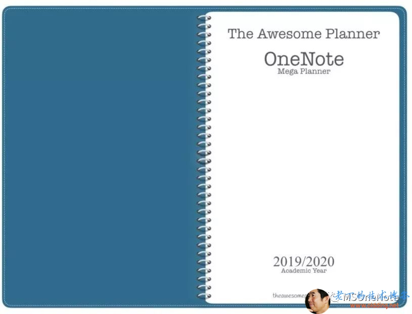The Awesome Planner OneNote Mega Planner 2019 / 2020 Academic Year 方 的 0 了 汾 的 贡 。 One Note